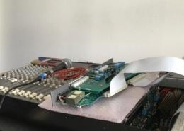 Maintenance Console mixage CALREC Minimixer